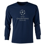 UEFA Champions League LS Youth T-Shirt (Navy)