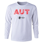 Austria Euro 2016 Long Sleeve Youth Elements T-Shirt (White)