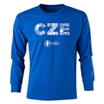 Czech Republic Euro 2016 Long Sleeve Youth Elements T-Shirt (Royal)
