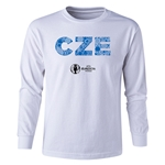 Czech Republic Euro 2016 Long Sleeve Youth Elements T-Shirt (White)