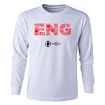 England Euro 2016 Long Sleeve Youth Elements T-Shirt (White)