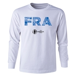 France Euro 2016 Long Sleeve Youth Elements T-Shirt (White)