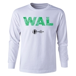Wales Euro 2016 Long Sleeve Youth Elements T-Shirt (White)