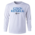 Czech Republic Euro 2016 Long Sleeve Youth Core T-Shirt (White)