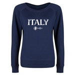 Italy Euro 2016 Long Sleeve Youth Core T-Shirt (Navy)