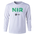 Northern Ireland Euro 2016 Long Sleeve Youth Elements T-Shirt (White)