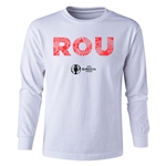 Romania Euro 2016 Long Sleeve Youth Elements T-Shirt (White)
