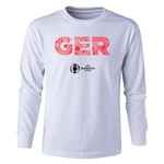 Germany Euro 2016 Long Sleeve Youth Elements T-Shirt (White)