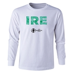 Ireland Euro 2016 Long Sleeve Youth Elements T-Shirt (White)
