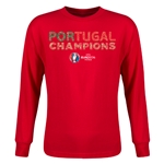 Portugal UEFA Euro 2016 Champions Youth LS T-Shirt (Red)