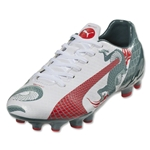 Puma evoSpeed 4.3 Graphic FG JR (White/Sea Pine)