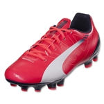 PUMA evoSPEED 5.3 FG Graphic Junior (Bright Plasma/White)