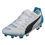 Puma evoPower 1.2 FG (White/Black/Hawaiian Ocean)