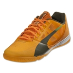 PUMA evoSPEED Sala (Fluo Flash Orange/Burnt Olive/Sharp Green)