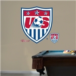 USA Crest Logo Fathead Wall Decal