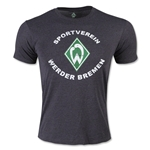 Werder Bremen Distressed T-Shirt (Dark Gray)