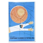 1954 FIFA World Cup Poster