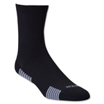 adidas Team Speed Sock System Light Cushion Mid Sock (Blk/Grey)
