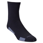 adidas Team Speed Sock System MediumCushion Mid Sock (Blk/Grey)