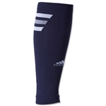 adidas Team Speed Sock System Calf Sleeve (Navy/White)