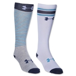 Under Armour Women's Retrostrip OTC Sock (Blue)