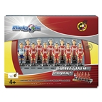 Spain Foosball Set Figures (Pack 11)