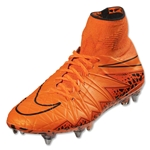 Nike Hypervenom Phantom II SG-Pro (Total Orange/Total Orange/Bright Citrus/Hyper Crimson/Black)