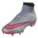 Nike Mercurial Superfly SG Pro (Wolf Gray/Hyper Pink)