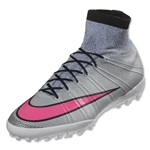 Nike Mercurial Superfly X TF (Wolf Gray/Hyper Pink)