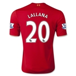Liverpool 15/16 LALLANA Home Soccer Jersey
