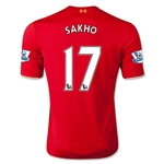 Liverpool 15/16 SAKHO Home Soccer Jersey