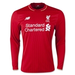 Liverpool 15/16 LS Home Soccer Jersey