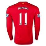 Liverpool 15/16 FIRMINO LS Home Soccer Jersey