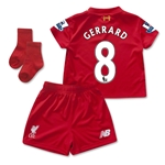 Liverpool 15/16 GERRARD Home Baby Kit