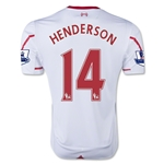 Liverpool 15/16 HENDERSON Away Soccer Jersey