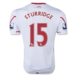 Liverpool 15/16 STURRIDGE Away Soccer Jersey