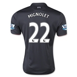Liverpool 15/16 MIGNOLET Third Soccer Jersey