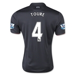 Liverpool 15/16 TOURE Third Soccer Jersey