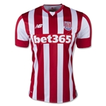 Stoke City 15/16 Home Soccer Jersey