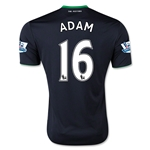 Stoke City 15/16 ADAM Away Soccer Jersey