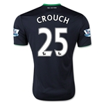 Stoke City 15/16 CROUCH Away Soccer Jersey