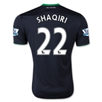 Stoke City 15/16 SHAQIRI Away Soccer Jersey