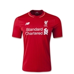 Liverpool 15/16 Youth Home Soccer Jersey