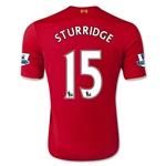 Liverpool 15/16 STURRIDGE Youth Home Soccer Jersey