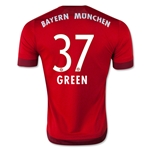 Bayern Munich 15/16 GREEN Home Soccer Jersey
