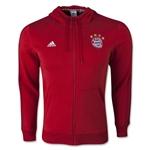 Bayern Munich 3-Stripe Full-Zip Hoody