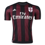 AC Milan 15/16 Authentic Home Soccer Jersey