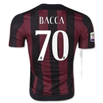 AC Milan 15/16 BACCA Authentic Home Soccer Jersey