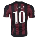AC Milan 15/16 HONDA Authentic Home Soccer Jersey