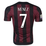 AC Milan 14/15 MENEZ Authentic Home Soccer Jersey